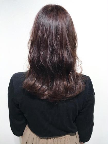 【ショコラブラウンカラー🍫☆】  やわらかみのある甘めな髪色に。。  髪の毛が艶やかに見えるだけでなく、肌も綺麗に見せてくれます☺︎  ほんのり赤みが入っているので色白の方にオススメです♪   インスタグラムで、その他スタイル更新してます。 気に入ったスタイルは保存しておいてもらうと カウンセリングがスムーズです☆  instagram→@hayatoniwa