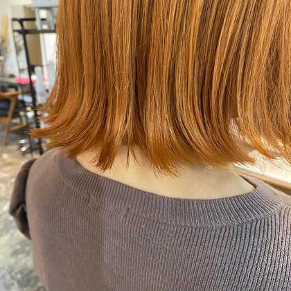 ✨minimo限定✨🍆外国人風透明感アディクシーカラー+3step髪質改善トリートメント🍆