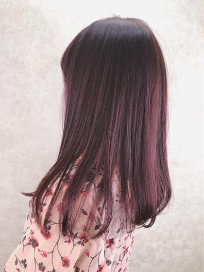 ♡ ブリーチなしナチュラルピンクヘア ♡
