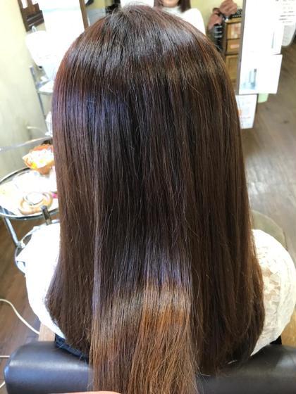 エイジングでパサパサになってる髪をツヤツヤに(^。^)