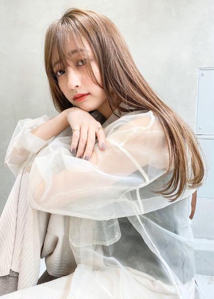 🎖艶サラ髪🎖【髪質改善コスメストレート】+【メンテナンスカット】+【最新トリートメント】