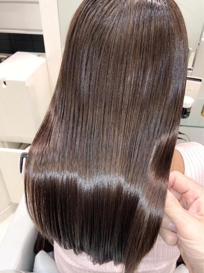 🌈カット+100色から選べる全体カラー+極上トリートメント🌈✨巻き髪アレンジ付き✨