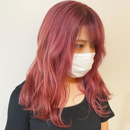 【学割U24】💭カット×ケアブリーチカラー×髪質改善トリートメント💭
