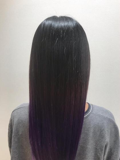 カラー+髪質改善トリートメント🍃
