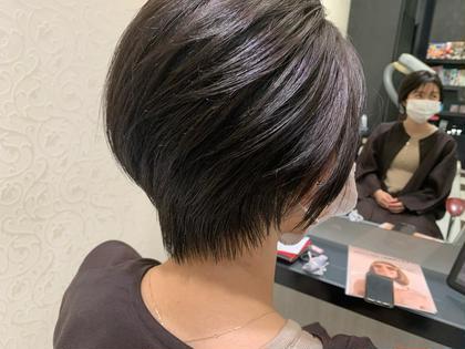 カット➕美髪ツヤカラー【トリートメント付き】