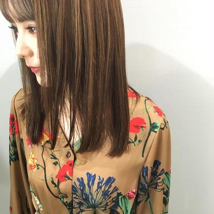 数ミリまでこだわり⭐︎前髪カット