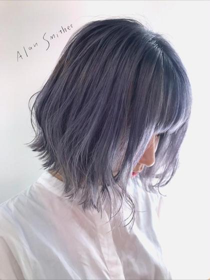 【💛リピートNO.3💛】似合わせカット✨+透明感カラー+シルクトリートメント