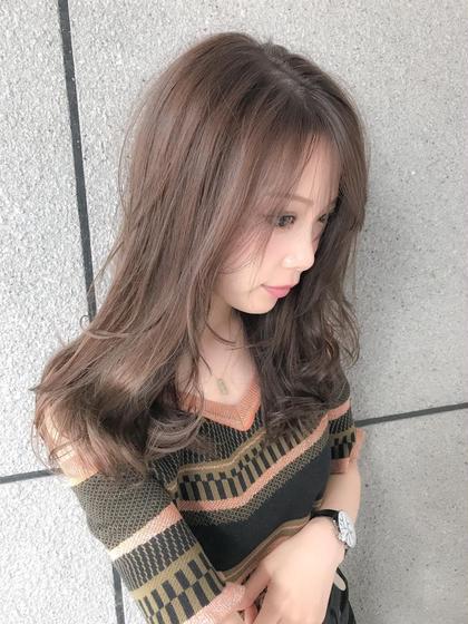 【カット+カラー+トリートメント❤️】似合わせ小顔カット+一色カラー+毛髪強化TR ¥15120→¥6500