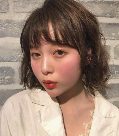 💛前髪カット+前髪パーマ💛