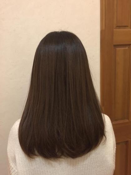 アッシュ✨ 透明感◎ AUBE HAIR 三鷹店所属・店長 福間友人のスタイル