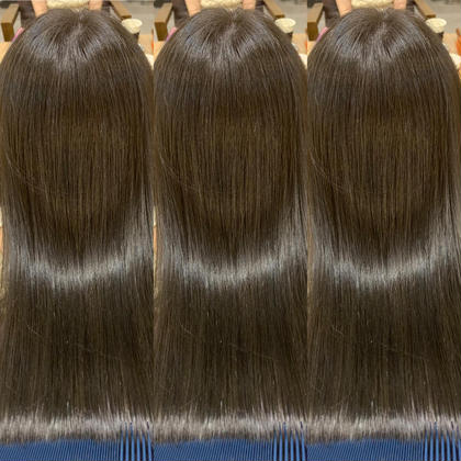 ✨艶髪【くせ毛の方向け】✨                   ❤️Rストレート❤️TOKIOトリートメント&カット✨