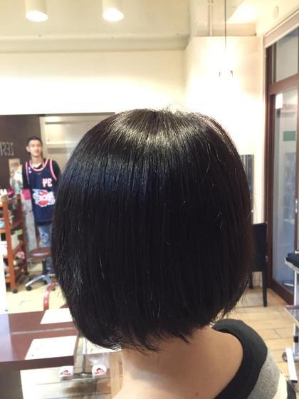 トーンダウン、伸びてきた髪の毛の元々の色味にあわしたカラーです! little×Porto所属・小坂隼斗のスタイル