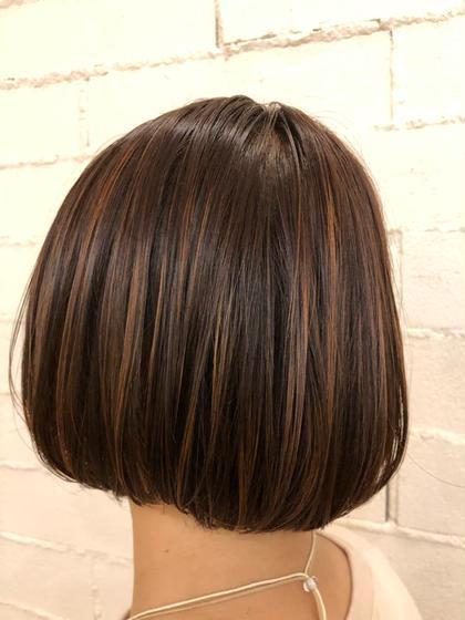 [平日限定]カット+カラー+髪質改善トリートメント+炭酸ヘッドスパ✨
