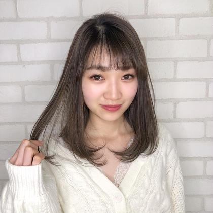 ❤️ミニモ限定❤️枝毛カット&フルカラー&キュアトリートメント