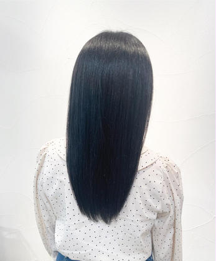 ✨髪質改善✨❤️酸熱トリートメント+フルカラー❤️【再来のお客様+1100円】