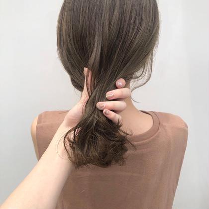 💗🥈人気No.2🥈💗【透明感ワンカラー】➕【生トリートメント】➕【前髪カット】