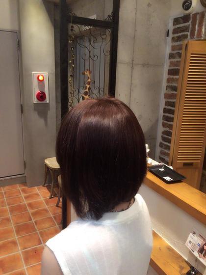 ラベンダーアッシュ✨ AUBE HAIR 三鷹店所属・店長 福間友人のスタイル