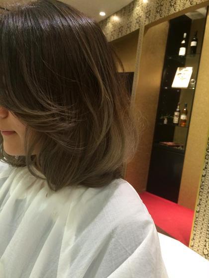 外国人風グラデーション★ hairmakeEARTH岐阜店所属・新川はる菜のスタイル