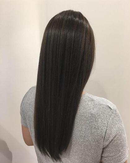 【梅雨限定☔️】✨髪質改善✨縮毛矯正&メンテナンストリートメント
