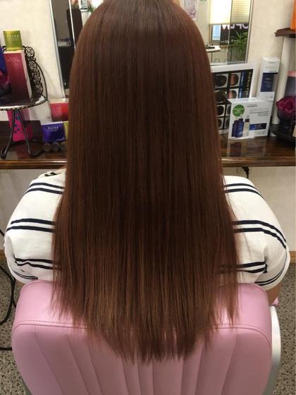 前髪のみアイロンなし(くせ毛伸ばし)ナチュラルストレート★メニューにより料金は異なります。