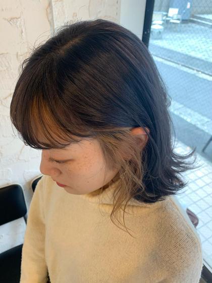 emHair所属の小澤結のヘアカタログ