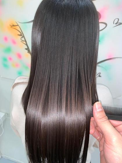 超絶美髪💜SNSで大人気✨レディースカット&髪質改善縮毛矯正&オージュアトリートメント✨