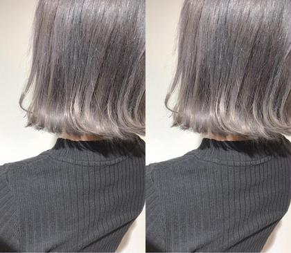 アディクシーカラー ブリーチ 副店長片岡達紀のショートのヘアスタイル