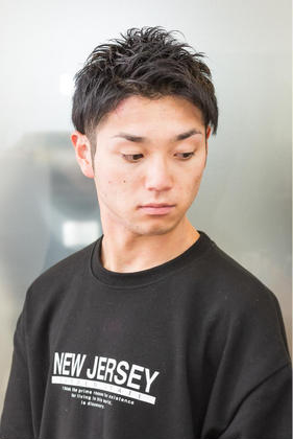ご新規様☆men'sカット(眉カット付)