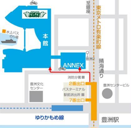 駅からららぽーとまでの地図です。 UNIX ららぽーと豊洲店所属・樽見奈那のスタイル