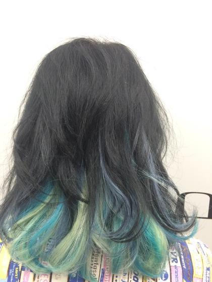 黒髪でもインナーカラーでおしゃれに LiNA Beauty Garden所属・加藤美果のスタイル
