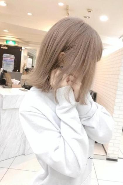 【神クーポン☆】透明感カラー+小顔カット+トリートメント¥5500