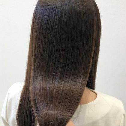 艶が甦る☆自然な仕上がり低ダメージ縮毛矯正 武本 俊文 (美容歴12年)のパーマ