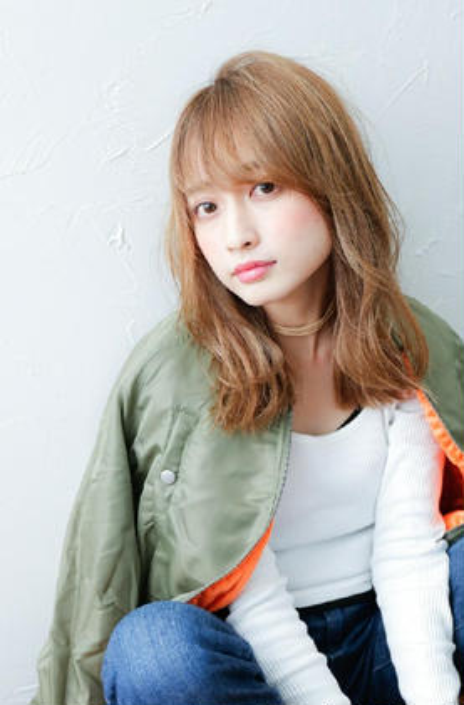 1番人気!☆艶カラー&カット&サラ艶2stepトリートメント☆