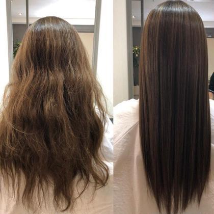 【セレブ髪♡質感矯正♡ミネコラトリートメント】髪の毛の水分量格段にup♡うる艶トリートメント♡12000円