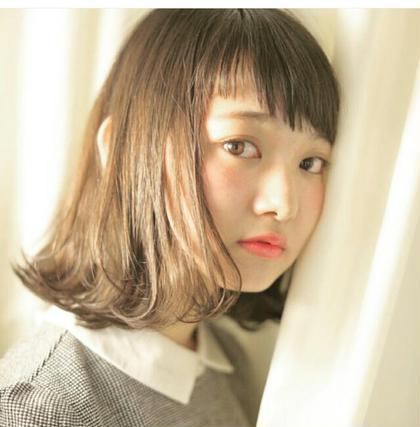 ミルクティーベージュ♪ Hair-salon&BeautyLOA【ロア】所属・itoasamiのスタイル