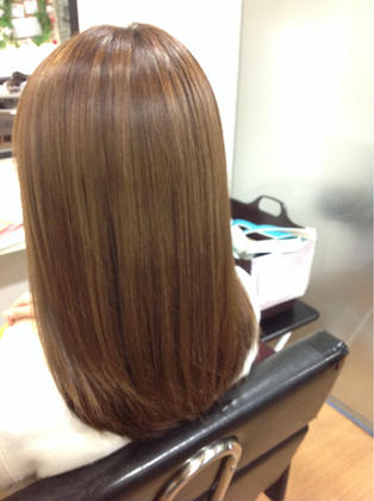 カラー+トリートメント! charm hair resort所属・charmhairのスタイル