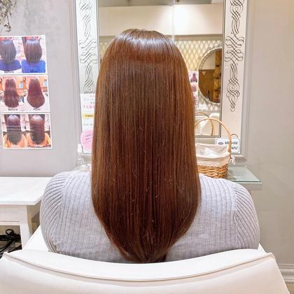 オリジナルカット+髪質強度140%TOKIOインカラミリミテッドトリートメント