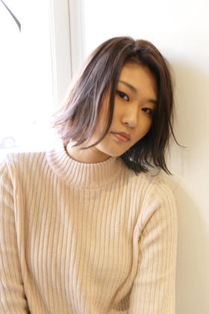 【スタイリスト】美フォルムカット&イルミナカラー