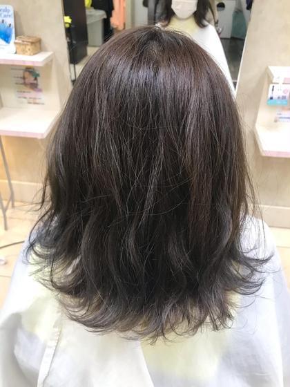 19時からカラーモデル 赤みを抑えて色持ち抜群✨エドルカラー+髪質改善💫Aujua4stepトリートメント