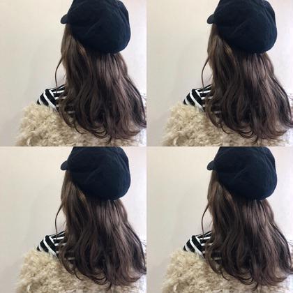 lavender beige yehatov  hair所属・松山実穂のスタイル