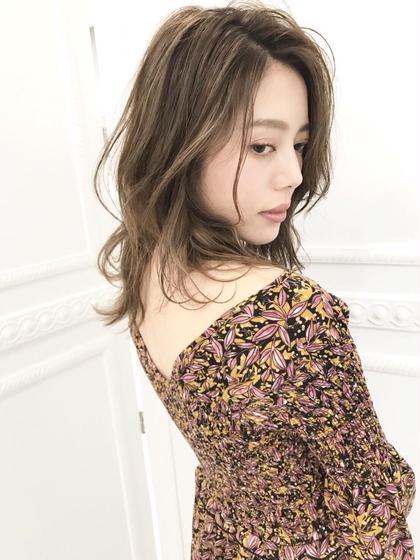 ✔️  【6月限定💕】 ❣️外国人風イルミナカラー&トリートメント✨ダメージレス&透明感カラー