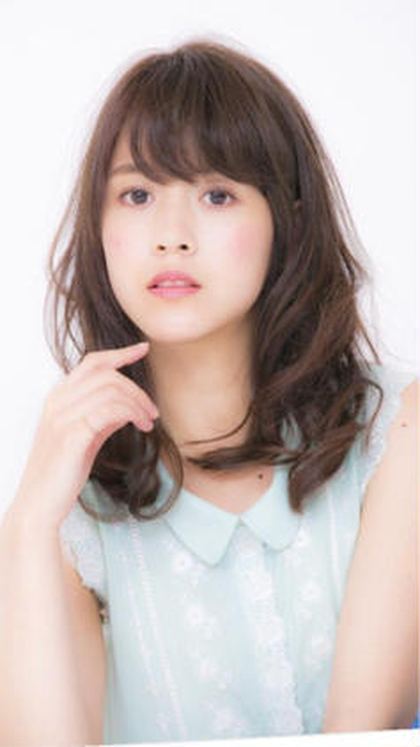 【💓待望の新クーポン💞】🌈カット+トレンド艶カラー+前髪パーマ+2stepトリートメント🌈