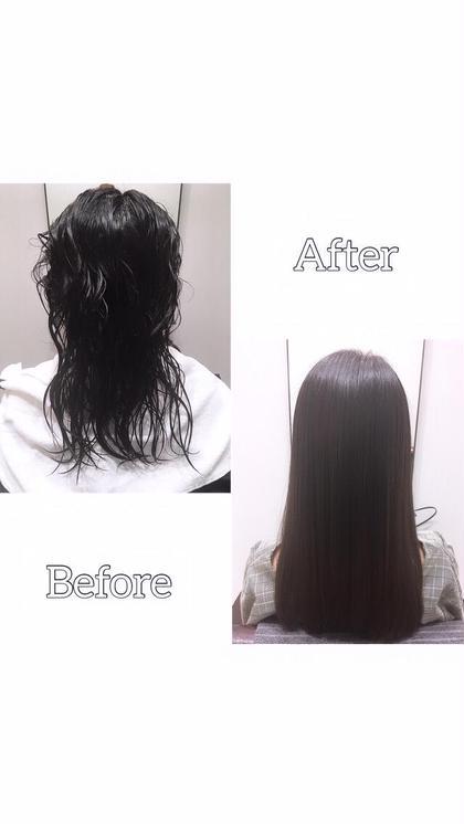 ❤️TVで話題の酸熱トリートメント❤️縮毛矯正まではいかなくてもおさまりを良くしたい!髪のクセ 広がりを抑えてくれる!