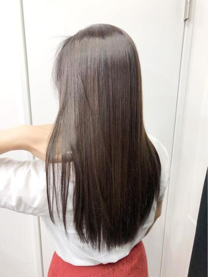 🆕🤍髪質改善🤍話題の!水素トリートメント【シャンプー/ブロー込み】
