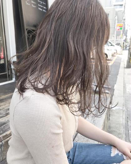 カット+エアリーパーマ+最旬カラー