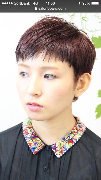 ☆ガーリー&モードな60's年代風ショート☆ hair  salon  Regina所属・柴田陽平のスタイル