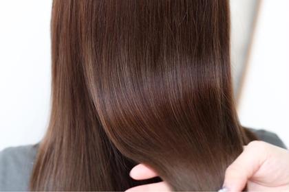 🌈【5月平日限定価格】最も頭皮、髪を痛めないホリスティック縮毛矯正+カット+美潤tr