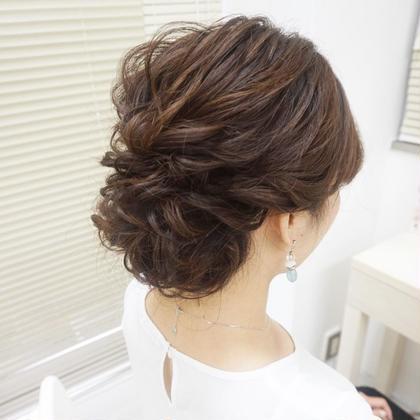 ふわふわアップ 上野霞のヘアアレンジ