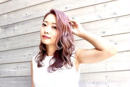 キレイ ModaJr.Stylistのセミロングのヘアスタイル
