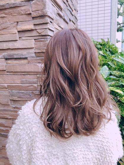トレンドパーソナルカラー+高保湿ケア+前髪カット